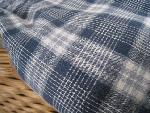 vintage check  fabric