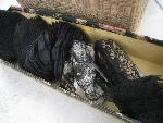 black lace in box