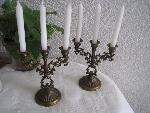 candle stand pair
