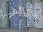 set of 5 fabric