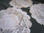 doily lace set