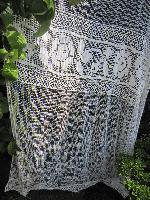 filet lace curtain