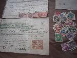 old papers & stamps