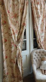 french curtain set