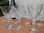 6 wine glass set