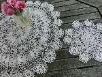 lace doily set