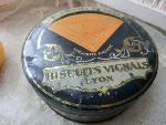 old tin box