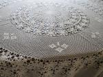 round lace cover