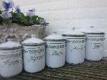 emaille canisters