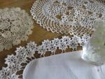 set of 3 doily