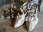 bride shoes-silk