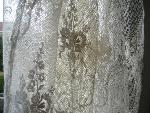 french lace curtain