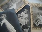 set of 4 old photoes