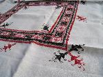 X`mas table cloth set