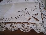 squere lace cloth