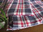vintage check cloth
