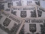 6 france broderie